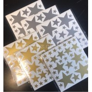 Wall Star Sticker(Shipping İncluded)