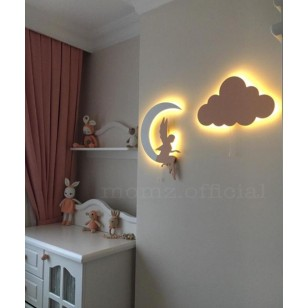 1 Moon+1 cloud Wall Lights (Shipping İncluded )