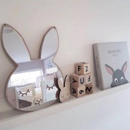 Unbrekable Rabbit Mirror(Shipping İncluded)