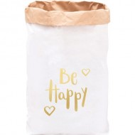 Paper Bag Be happy(Shipping İncluded)