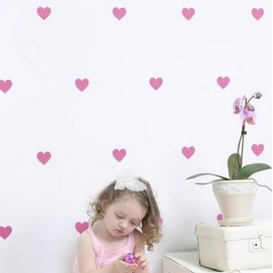 Heart Wall Sticker(Shipping İncluded)