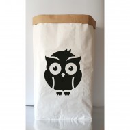 Paper Bag Owl(Shipping İncluded)