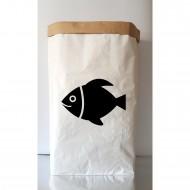 Balık Figürlü Kraft Sepet