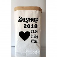Paper Bag For Birthday(Shipping İncluded)