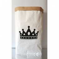 Paper Bag Crown Figure(Shipping İncluded)