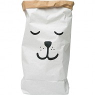 Paper Bag Sleeping Bear(Shipping İncluded)