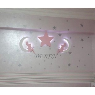2 Fairy+1 Star Wall Lights (Shipping İncluded )